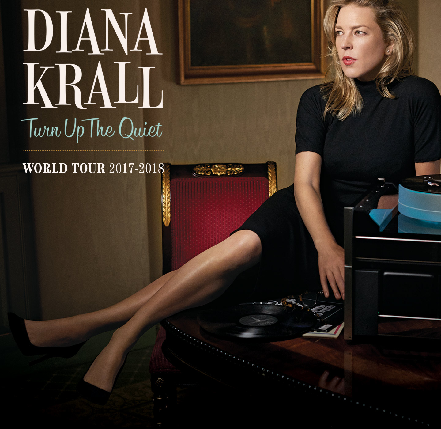 Diana Krall: Turn Up The Quiet World Tour