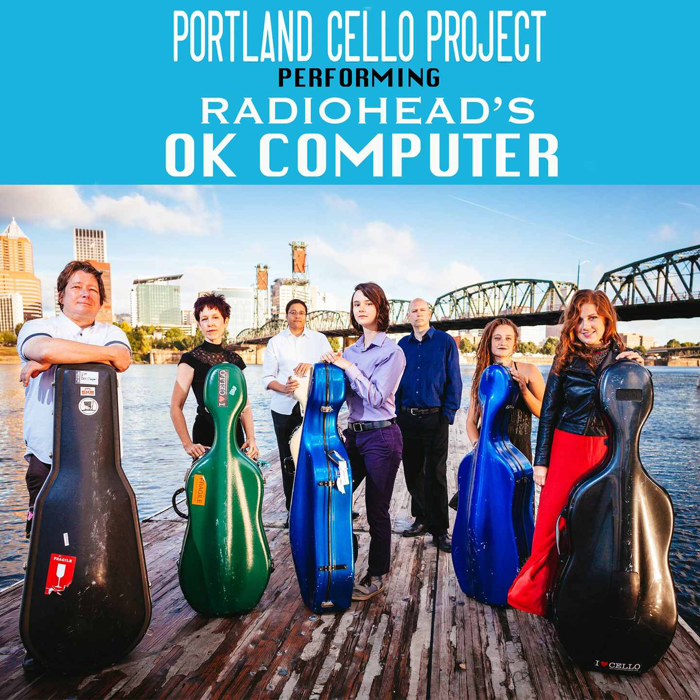 Portland Cello Project performing Radiohead's OK Computer